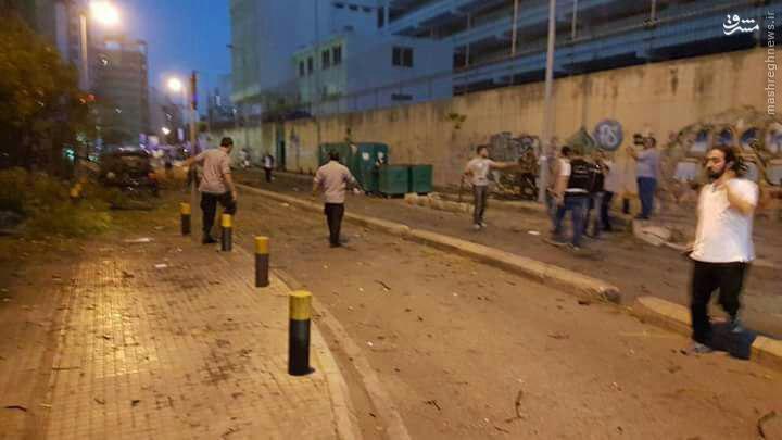 انفجار شدید در بیروت+عکس