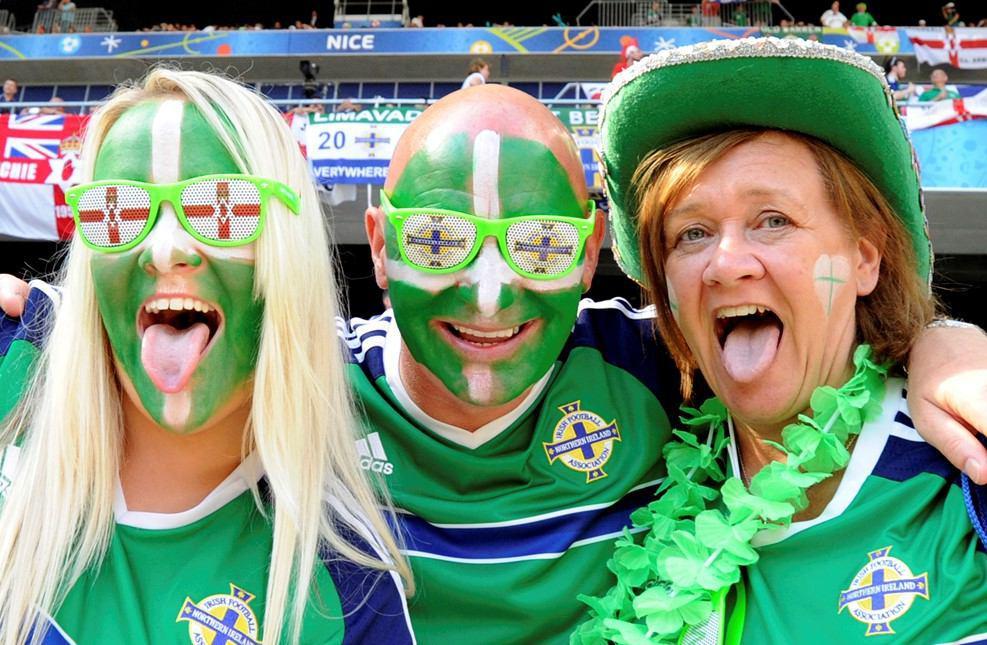 عکس/ هواداران متفاوت ایرلندی