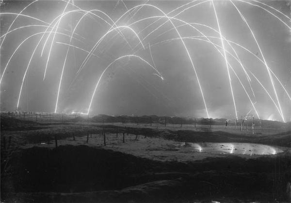 عکسی بسیار زیبا از جنگ جهانی اول