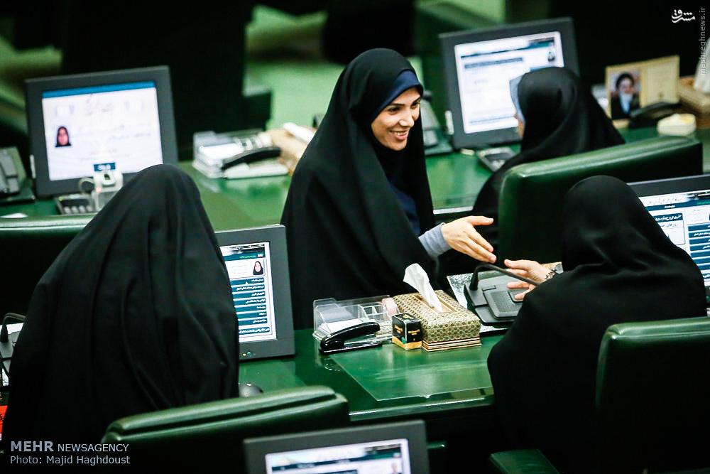 عکس/ جوانترین نماینده در مجلس