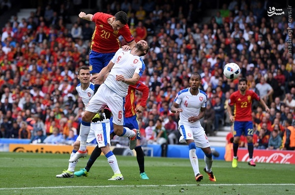 پیروزی سخت اسپانیا مقابل چک/ بارسایی ها به داد ماتادورها رسیدند +عکس و فیلم