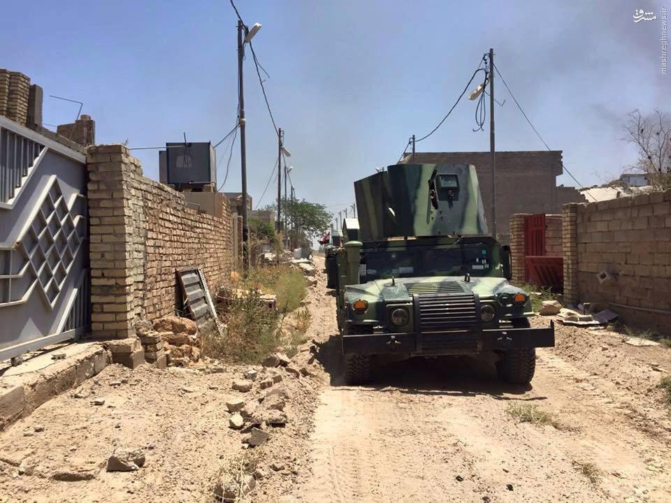 حمله ارتش عراق به حی النزال فلوجه+عکس