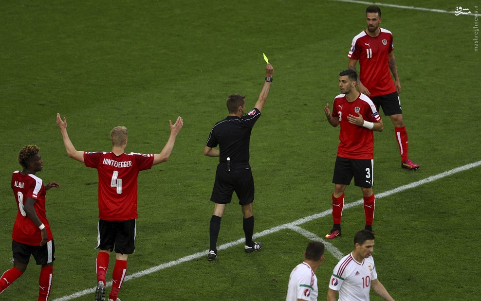 اتریشیها مقابل مجارستان زانو زدند