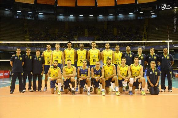 معرفی کامل حریفان ایران در لیگ جهانی والیبال 2016 - برزیل