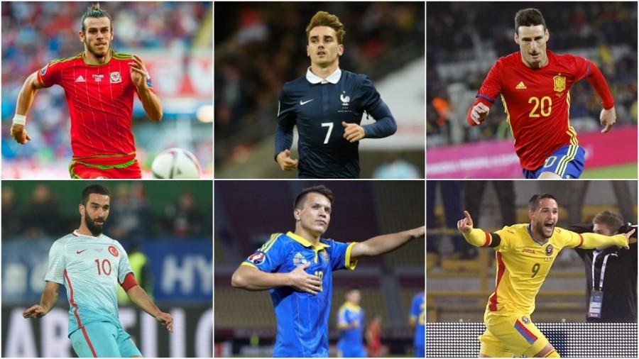 سی و چهار بازیکن لالیگایی حاضر در یورو 2016