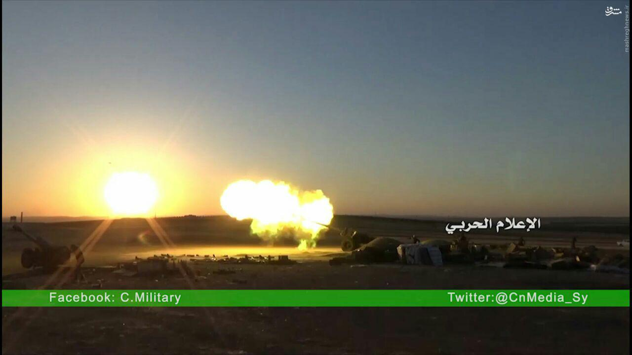 شکست هجوم تروریستها به خلصه/پیشروی ارتش در لاذقیه/زبدانی در آستانه تخلیه از تروریسهای خارجی/درگیری های شدید در غوطه شرقیه