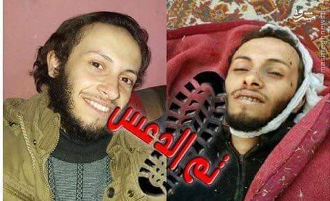 هلاکت فرمانده مصری القاعده در جنوب حلب+عکس