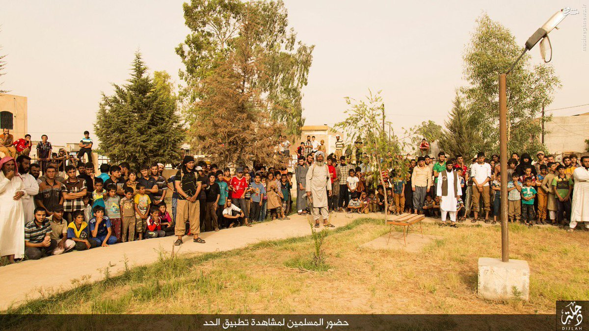 اعدام فجیع شهروند سنی عراقی توسط داعش+عکس