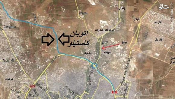 هلاکت موش تونل ساز احرارالشام در حلب+عکس