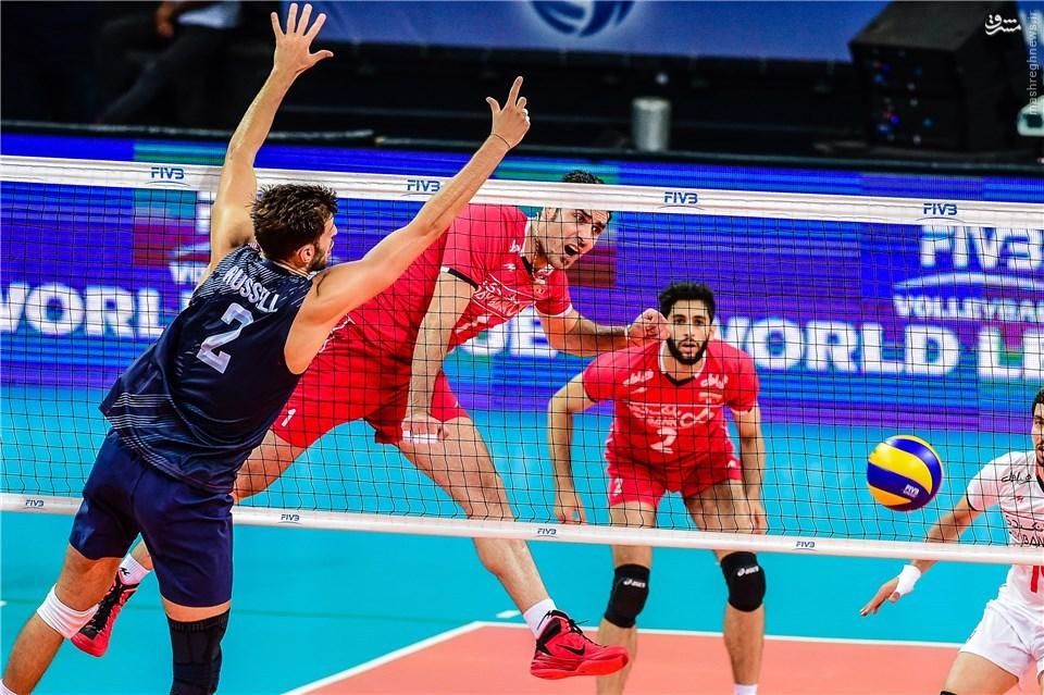 عکس/ پرامتیاز ترین بازیکن ایران در برابر آمریکا