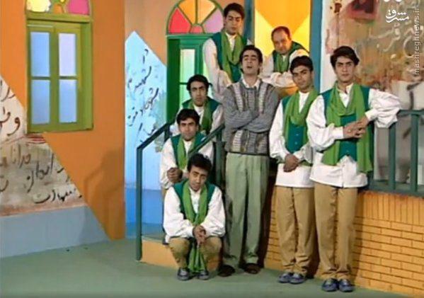 عکس/ مجریگری شهابحسینی در تلویزیون