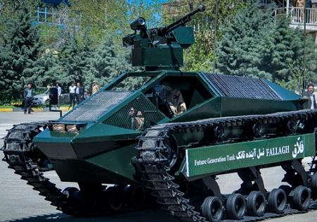 عملیاتی شدن تانک فلاق در رزمایش بیتالمقدس 28