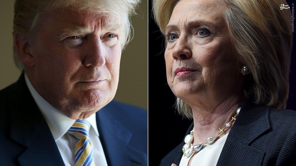 میانه ترامپ و کلینتون با راستگویی چطور است؟