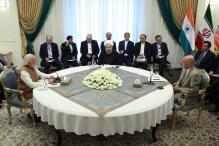 عکس/ نشست سه جانبه ایران، هند و افغانستان