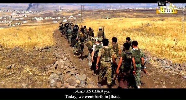 تروریستهای چینی:به سوریه مهاجرت کنید!+عکس