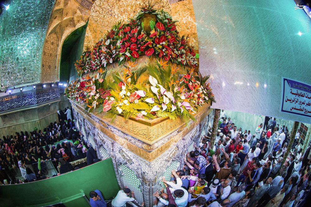 عکس استثنایی از حرم امام حسین(ع)