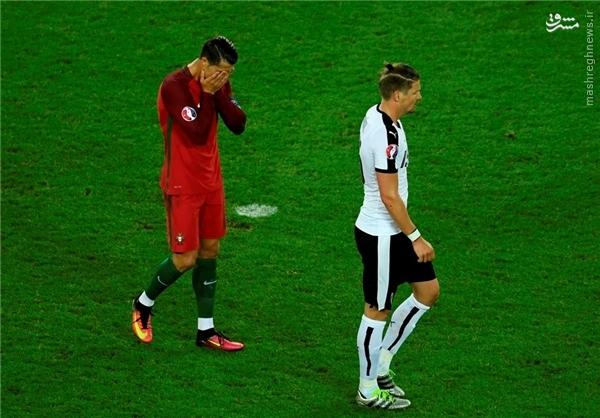 تساوی پرتغال و اتریش ، کریس در حسرت گلزنی