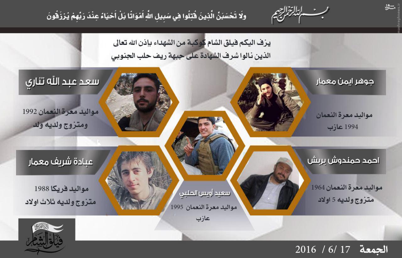 تلفات 40 نفری ارتش آزاد در درگیری با مدافعان حرم+عکس