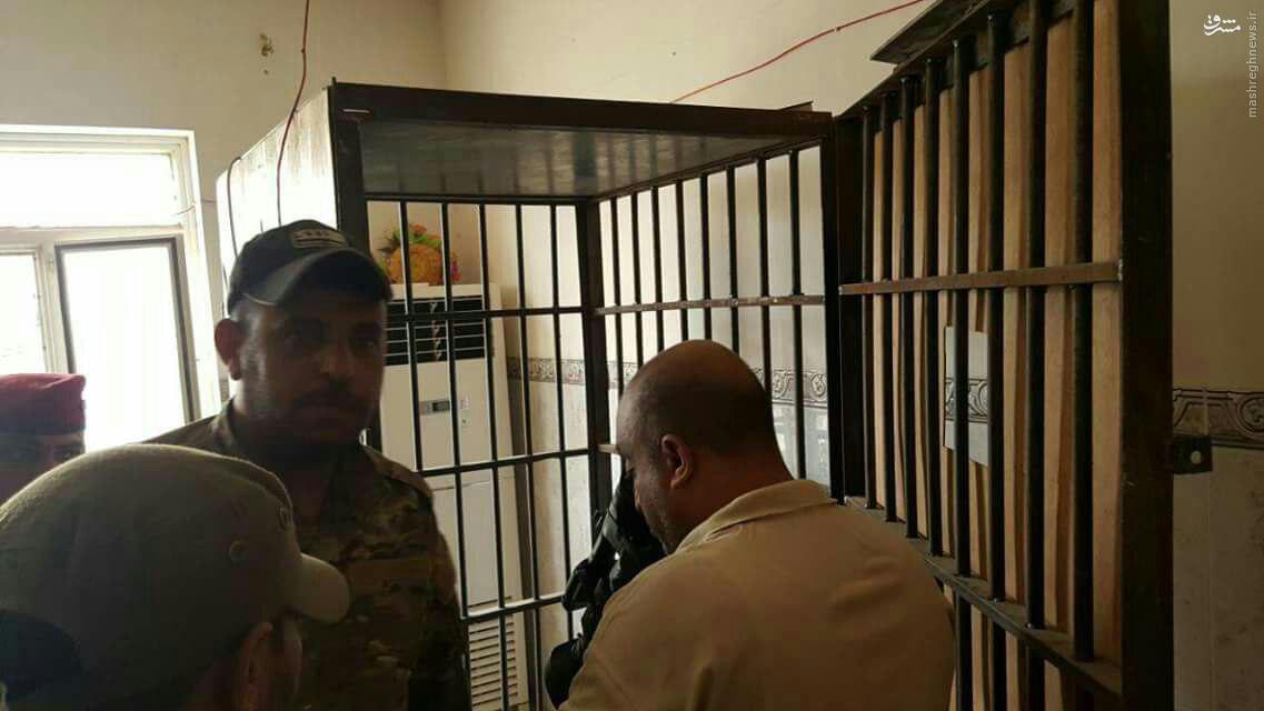 کشف زندان داعش در فلوجه+عکس