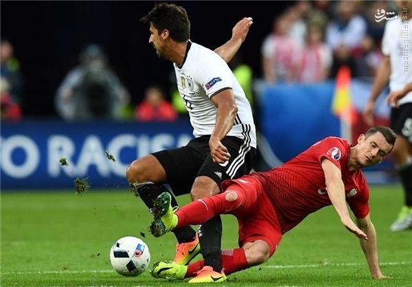 جراحت شدید پای هافبک آلمانها +عکس