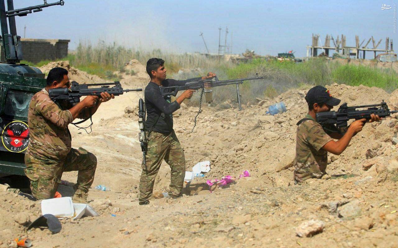 عکس/ سلاح جدید در دست سربازان عراقی