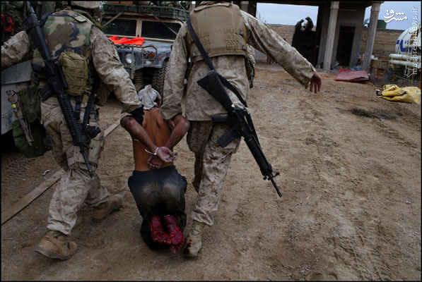 آمریکا با فلوجه چه کرد؟+عکس
