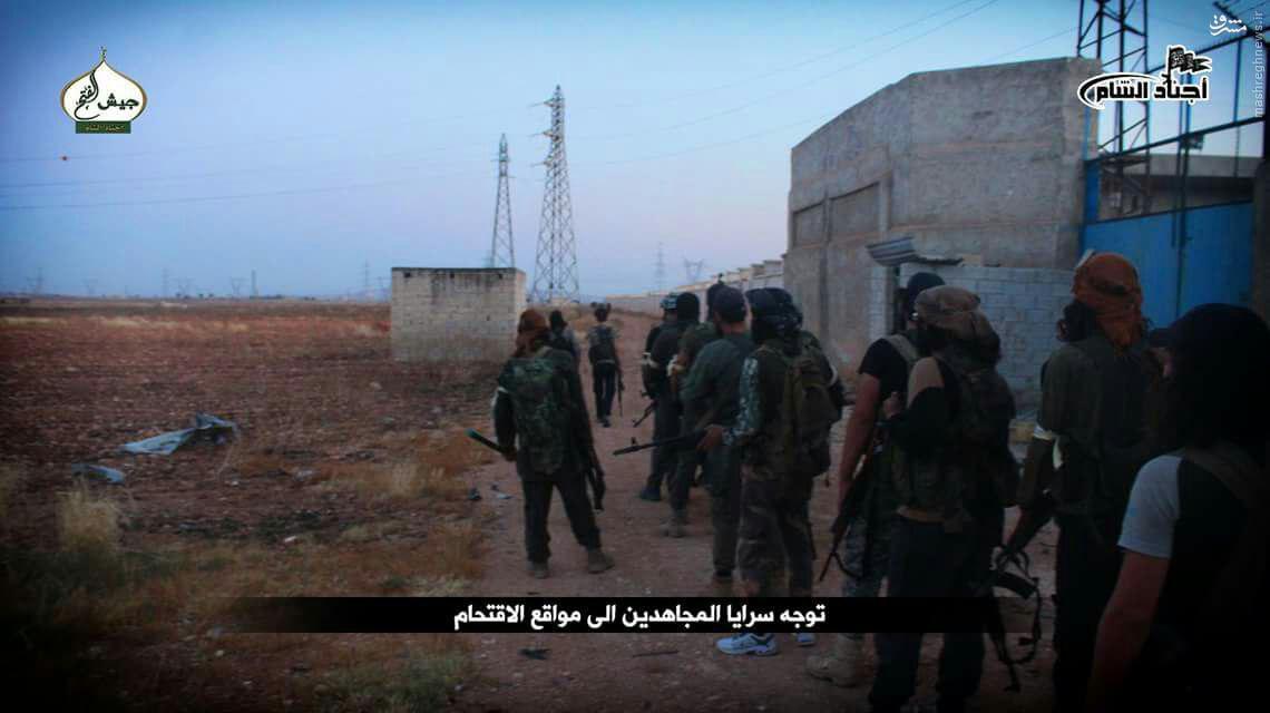 سیطره بر سه روستای جنوب حلب به روایت تروریستها+عکس