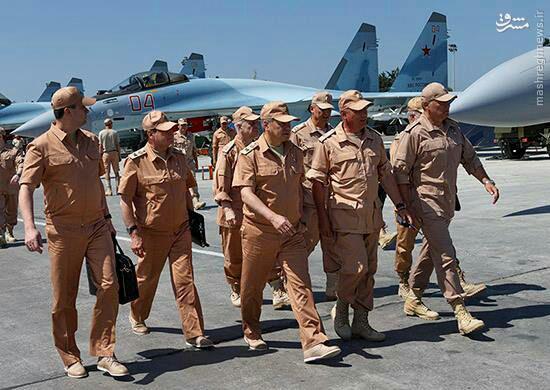 اهداف وزیر دفاع روسیه به سوریه