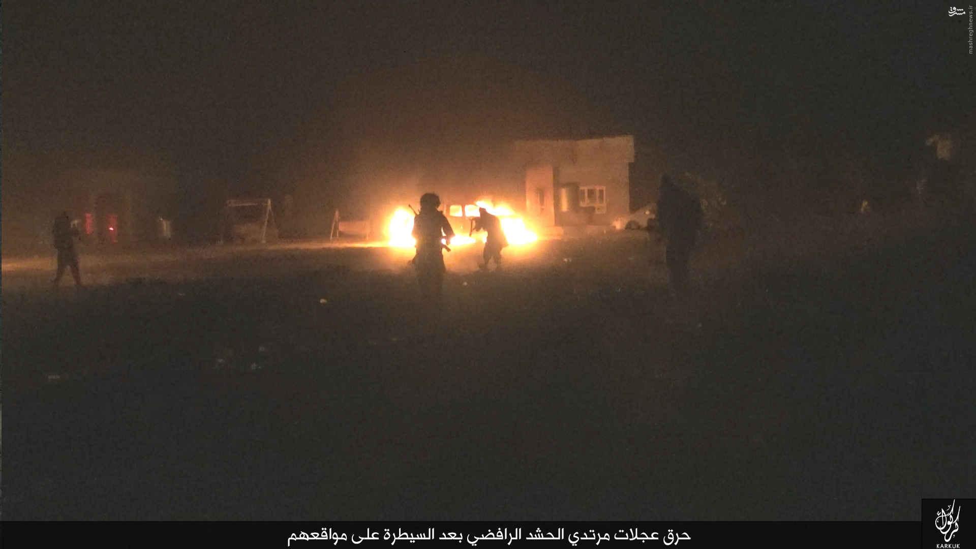 شبیخون داعش به پلیس عراق در طوزخورماتو+عکس