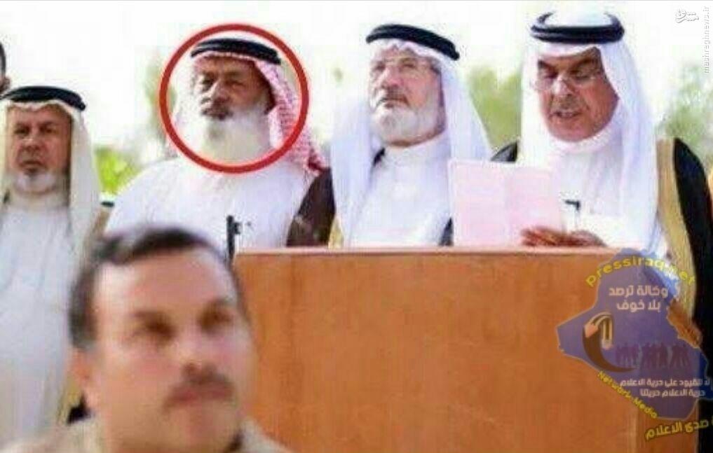 دستگیری یکی از مشایخ جنایتکار فلوجه+عکس