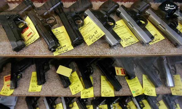 نیمی از سلاحهای خصوصی دنیا در دست آمریکاییهاست/ تعداد اسلحهها در آمریکا بیش از شهروندان است
