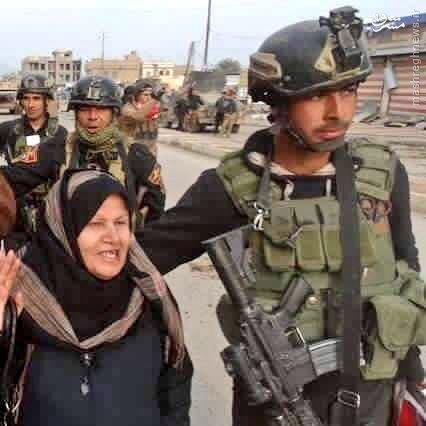تخلیه فلوجه از غیرنظامیان توسط بسیج مردمی+فیلم و عکس