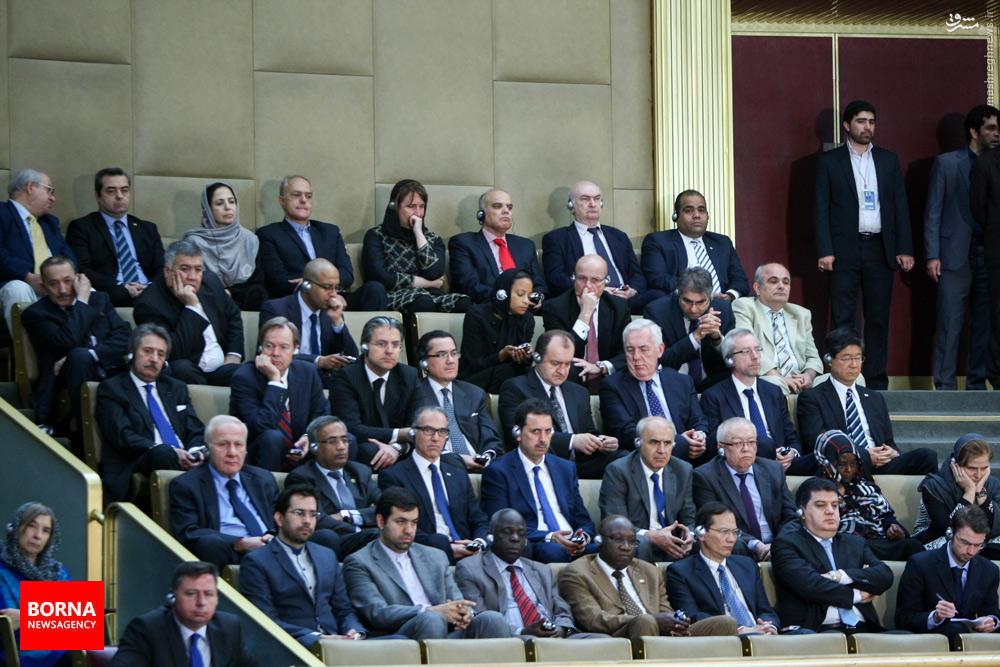 عکس/ مهمانان خارجی در مجلس خبرگان