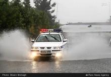 عکس/ آبگرفتگی در گرگان بر اثر باران