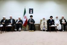 عکس/ دیدار اعضای مجلس خبرگان با رهبرانقلاب