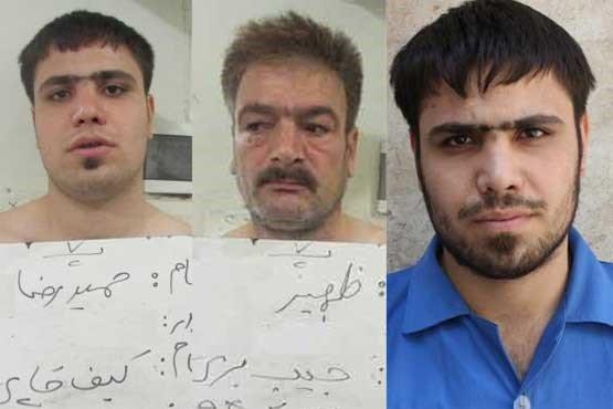 اعتراف متهمان به دهها فقره سرقت/ متهمان را شناسایی کنید