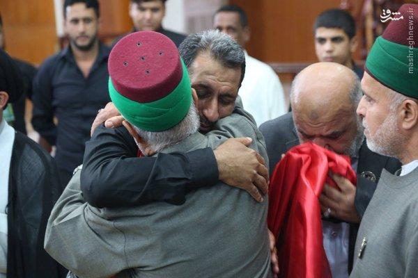 شهادت مدافع حرم میلیاردر عراقی در فلوجه+عکس