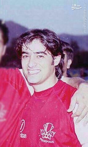 عکس/ شهاب حسینی در لباس پرسپولیس