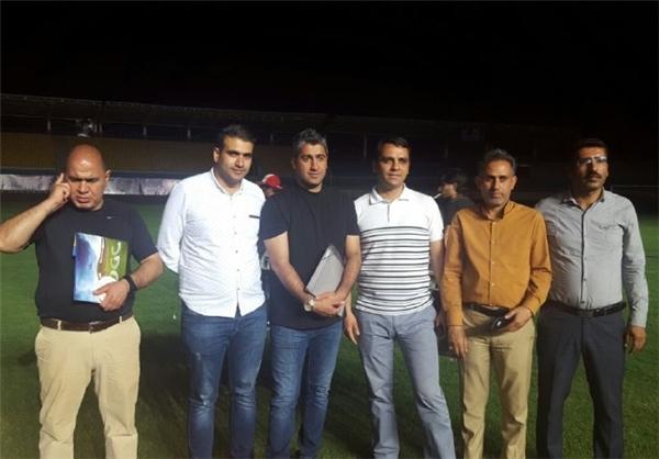 بازدید مجیدی و ساکت از ورزشگاه خرمشهر+عکس