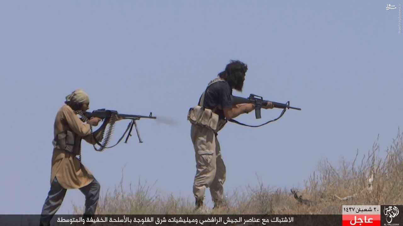 نبردهای شرق فلوحه به روایت داعش+عکس