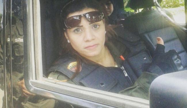عکس های اولین دختر بادیگارد مصری!