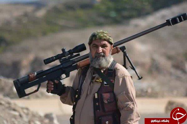 تیراندازی که فقط داعشی شکار می کند +عکس