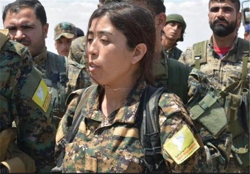 زنی که فرماندۀ جنگ با داعش است +عکس