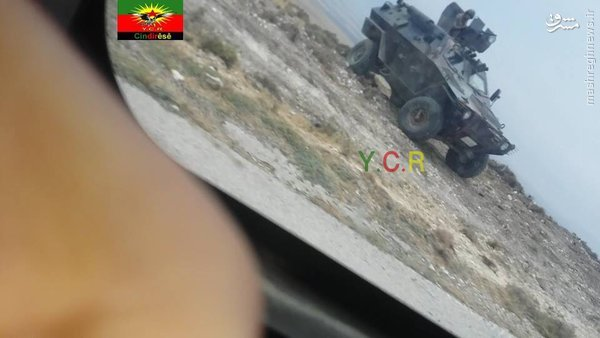 استقرار نظامیان ترک در عمق 700 متری خاک سوریه+عکس