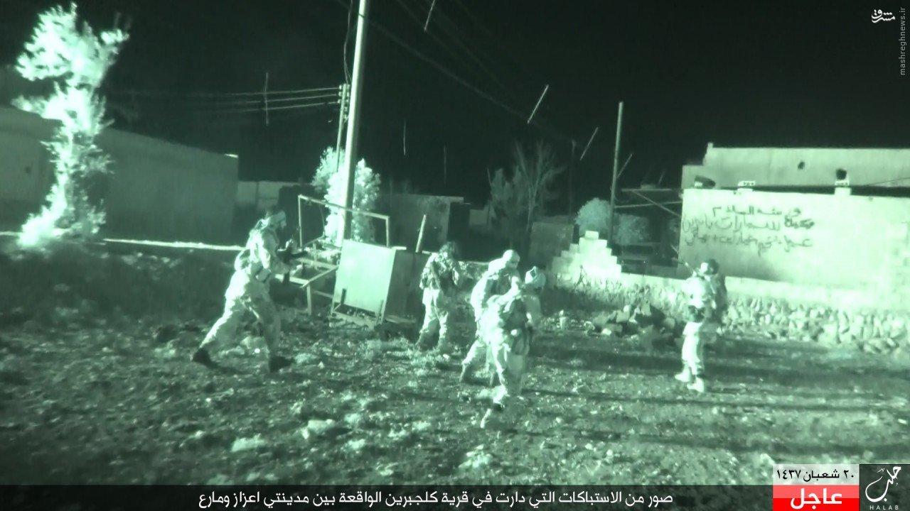حملات گسترده داعش به دو شهر شمال حلب+عکس و فیلم
