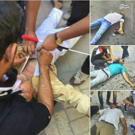 درگیری های شدید در بغداد+عکس و فیلم