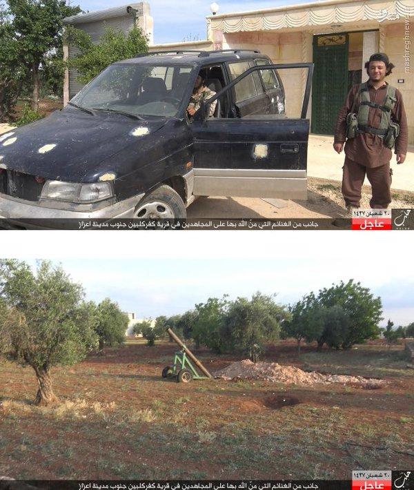 تلفات سنگین القاعده و ارتش آزاد در درگیری با داعش+عکس