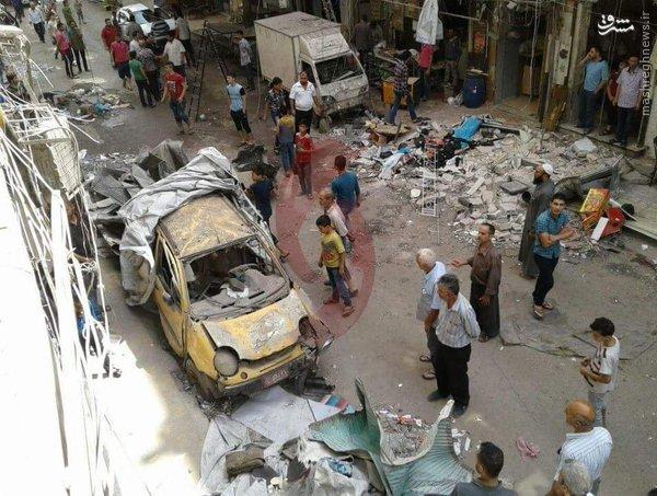 گلوله باران تنها بیمارستتن کودکان حلب+عکس