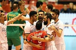 صدرنشینی ایران در روز نخست والیبال انتخابی المپیک +جدول رده بندی