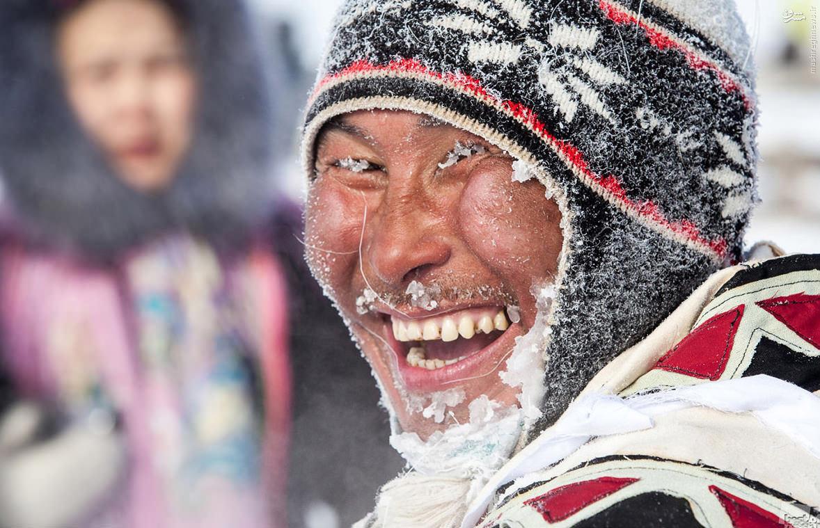 عکس/ خنده برفکی